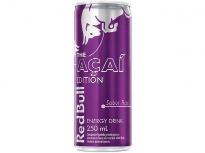 Energético Red Bull Açaí Edition - 250ml