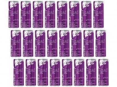 Energético Red Bull Açaí Edition 24 Unidades - 250ml