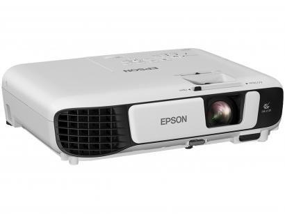 Projetor Epson PowerLite S41+ SVGA 800x600 - 3300 Lumens 3LCD HDMI USB