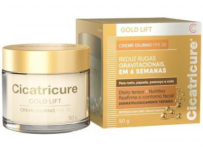 Creme Antissinais Facial Cicatricure Gold Lift - Diurno FPS 30 50g
