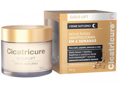 Creme Antissinais Facial Noturno Cicatricure - Gold Lift 50g
