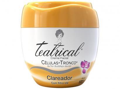 Creme Clareador Facial Teatrical Células Tronco - 100g