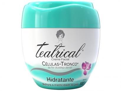 Creme Hidratante Facial Teatrical Células Tronco - 100g