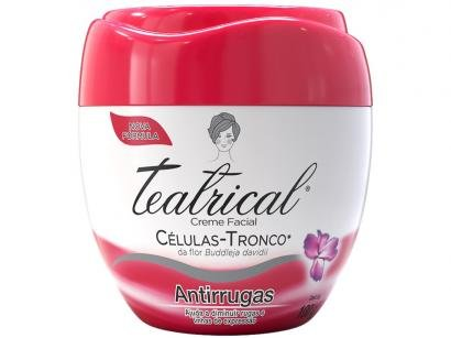 Creme Antissinais Facial Teatrical Antirrugas - 100g