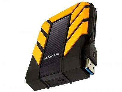 HD Externo 1TB Adata À Prova dágua - AHD710P-1TU31-CYL USB 3.1