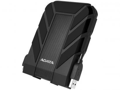 HD Externo 1TB Adata À Prova dágua - AHD710P-1TU31-CBK USB 3.1