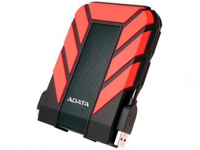 HD Externo 2TB Adata À Prova dágua - AHD710P-2TU31-CRD USB 3.1