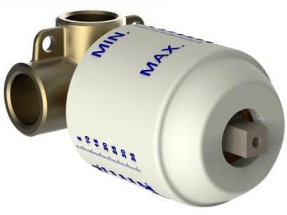 Base Misturador Monocomando Incepa - de Parede Misano B5007IMCR0