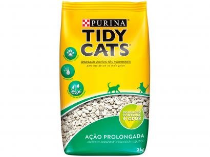 Areia para Gato Tidy Cats Ação Prolongada 2kg - 12328050