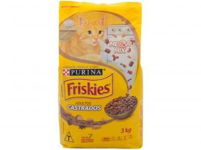 Ração Premium para Gato Friskies Megamix - Adulto 3kg