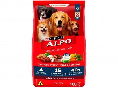 Ração para Cachorro Alpo Receitas Caseiras Adulto - Carne Grelhada com Vegetais 10,1kg