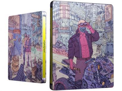 Cyberpunk 2077 para Xbox One CD Projekt Red - Steelbook Tyger Claws Lançamento
