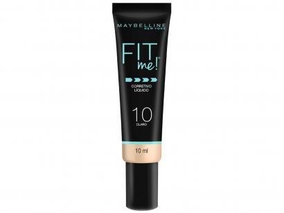 Corretivo Facial Líquido Maybelline Fit Me! - 10 Claro 10ml