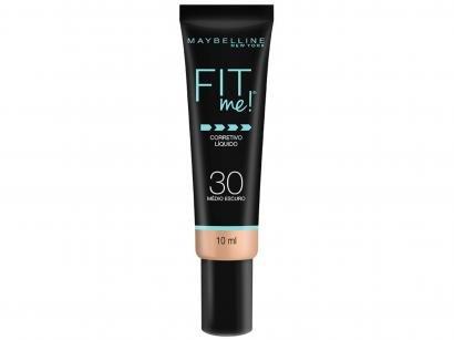 Corretivo Facial Líquido Maybelline Fit Me! - 30 Médio Escuro 10ml