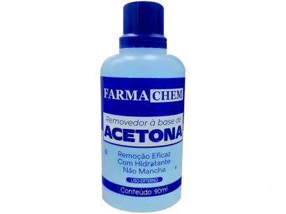 Removedor de Esmalte à Base de Acetona - Farmachem 90ml