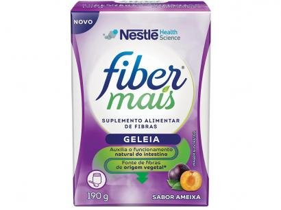 Suplemento Alimentar Adulto Fiber Mais - Ameixa Geleia 190g