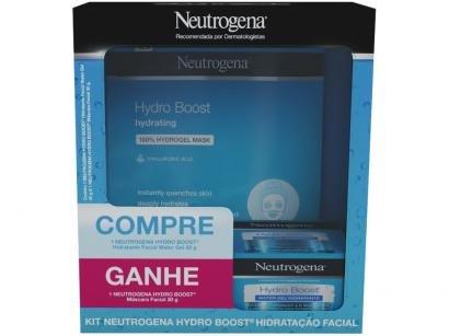 Kit Hidratante e Máscara Facial - Promopack Neutrogena