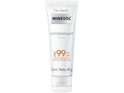 Protetor Solar Facial Minesol FPS 99 Antioxidant - 40g