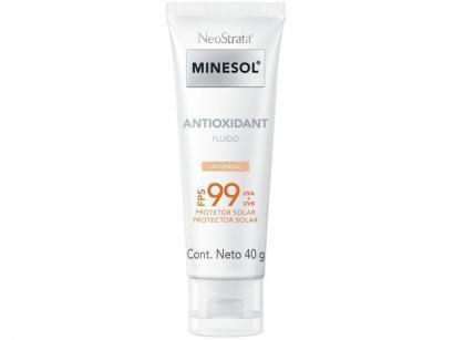 Protetor Solar Facial Minesol FPS 99 - Antioxidant Universal 40g