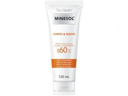 Protetor Solar Facial e Corporal Neostrata FPS 60 - Corpo & Rosto 120ml