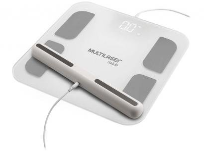 Balança Digital de Bioimpedância Bluetooth - até 180kg Multilaser HC060