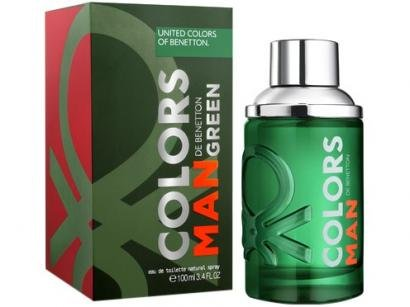 Perfume Benetton Colors Man Green - Masculino Eau de Toilette 100ml