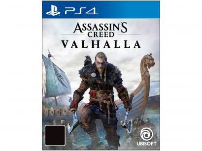 Assassins Creed Valhalla para PS4 Ubisoft - Edição Limitada
