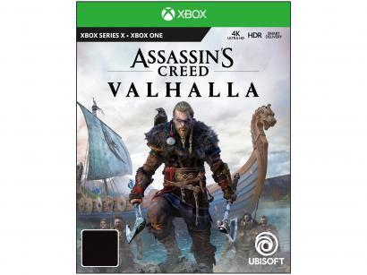 Assassins Creed Valhalla para Xbox One Ubisoft - Edição Limitada