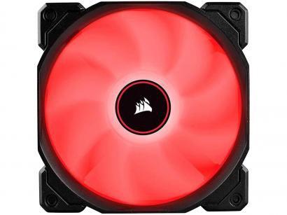 Cooler FAN LED Vermelho Corsair Air Series - AF120