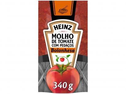 Molho de Tomate Bolonhesa Heinz - 340g