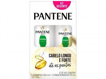 Shampoo Pantene Restauração 350ml - e Condicionador 175ml