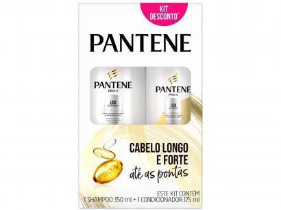 Shampoo Pantene Liso Extremo 350ml - e Condicionador 175ml