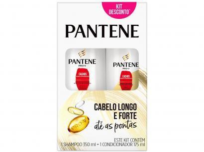 Shampoo Pantene Cachos Hidra-Vitaminados 350ml - e Condicionador 175ml