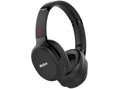 Headphone Bluetooth Philco Wave PFO01BTP - com Microfone Preto