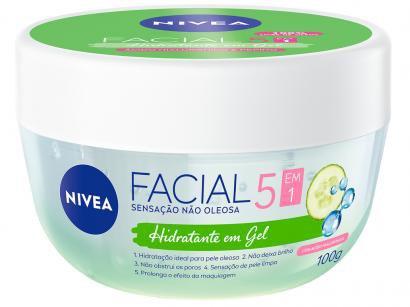 Gel Hidratante Facial Nivea Ácido Hialurôrico - e Pepino 100g
