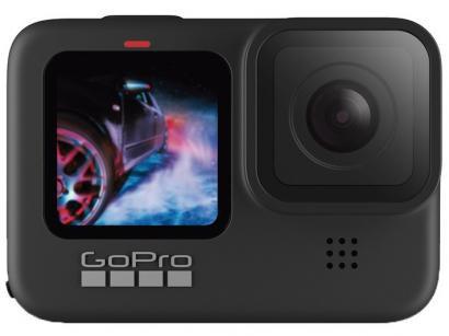 "GoPro HERO9 Black 20MP Wi-Fi Bluetooth GPS - 2,27"" à Prova de Água Transmissão ao Vivo"