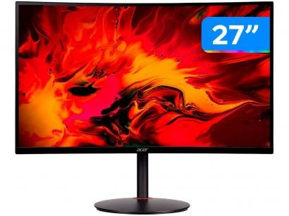 "Monitor Gamer Acer XZ270 27"" LED Curvo - Full HD HDMI 240Hz 1ms"