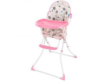 Cadeira de Alimentação Alta Multikids Baby - Slim Gatinho 0 a 15kg