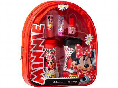 Kit Beleza Infantil Minnie View 5 Peças
