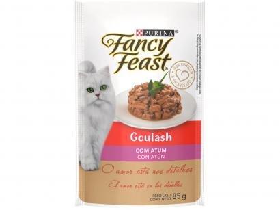 Ração Úmida para Gato Adulto Sachê Fancy Feast - Goulash Atum 85g
