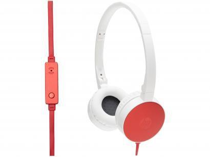 Headphone HP H2800 Cardinal com Microfone Vermelho