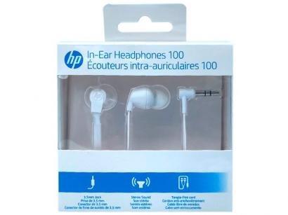 Fone de Ouvido HP H100 Intra-auricular Branco