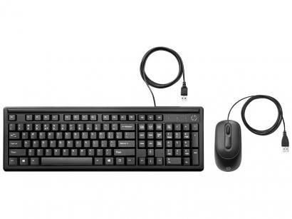 Kit Teclado e Mouse HP 160