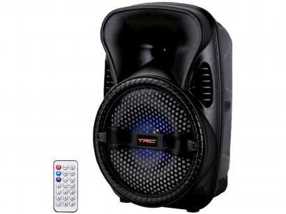 Caixa de Som TRC 5512 Bluetooth Amplificada 120W - USB