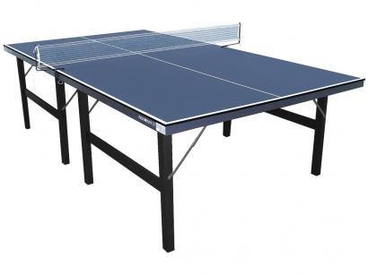 Mesa de Ping Pong Dobrável 15mm Procópio - 115 com 2 Raquetes 3 Bolinhas Rede e Suporte