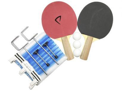 Kit Ping Pong/Tênis de Mesa Procópio 18211 8 Peças