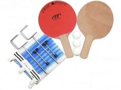 Kit Ping Pong/Tênis de Mesa Procópio 18213 - 8 Peças