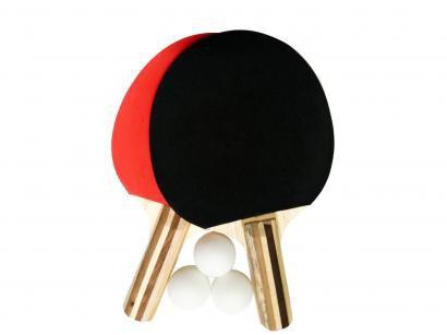 Kit Ping Pong/Tênis de Mesa Procópio 24 5 Peças