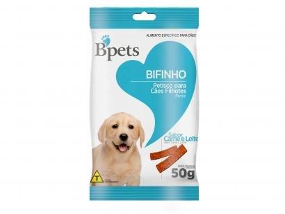Bifinho para Cachorro Filhote Bpets Carne e Leite
