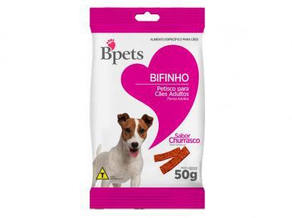 Bifinho para Cachorro Adulto Bpets Churrasco 50g